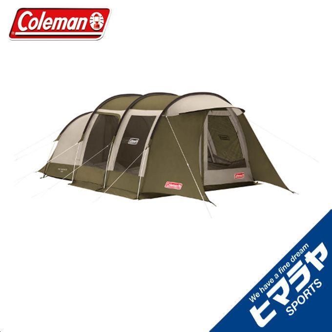 コールマン テント 大型テント トンネル2ルームハウス/LDX スタートパッケージ オリーブ/サンド 2000033801 Coleman