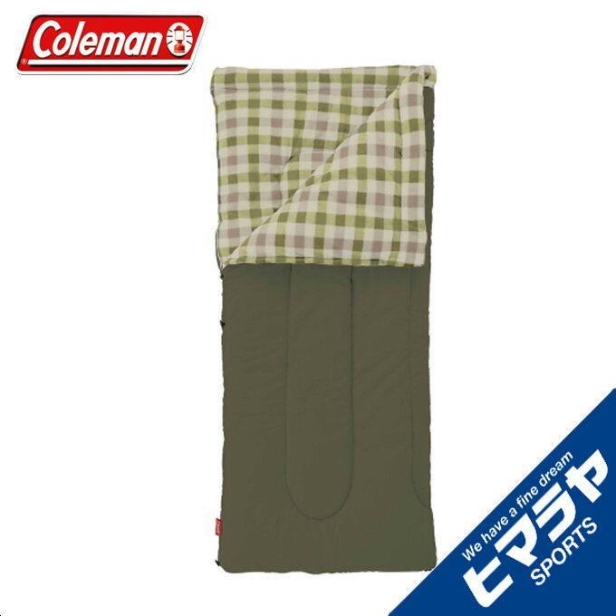 コールマン 封筒型シュラフ フリースイージーキャリースリーピングバッグ C0 オリーブ リーフ 2000033802 Coleman