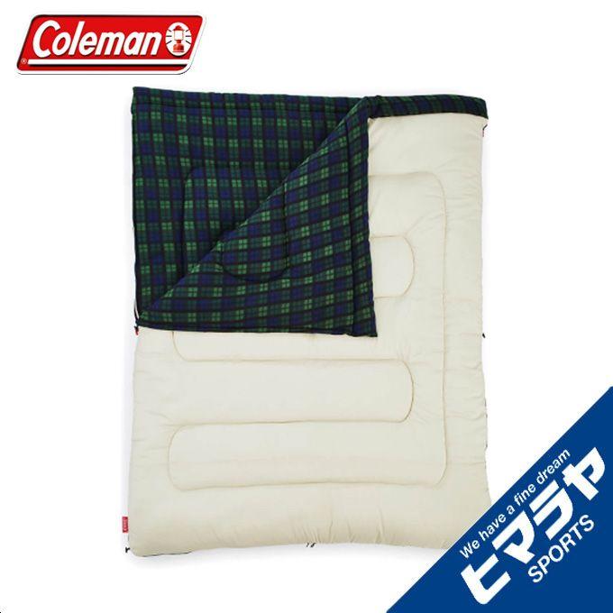 コールマン 封筒型シュラフ アドベンチャーフリーススリーピングバッグ C0 オリーブチェック 2000033804 Coleman