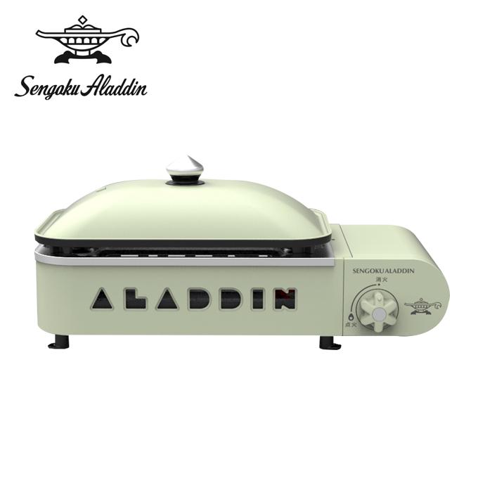 センゴクアラジン Sengoku Aladdin カセットコンロ ポータブルガスホットプレート プチパン SAG-RS21 G
