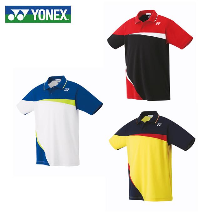 ヨネックス テニスウェア バドミントンウェア ゲームシャツ メンズ レディース スタンダードサイズ ポロシャツ 10306 YONEX 日本バドミントン協会審査合格品
