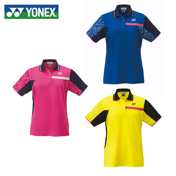 ヨネックス テニスウェア バドミントンウェア ゲームシャツ レディース スタンダードサイズ ポロシャツ 20486 YONEX 日本バドミントン協会審査合格品