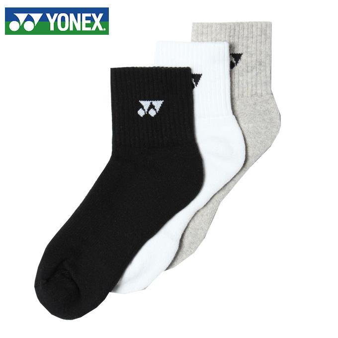 ヨネックス ソックス レディース アンクル3Pソックス限定 29141Y YONEX