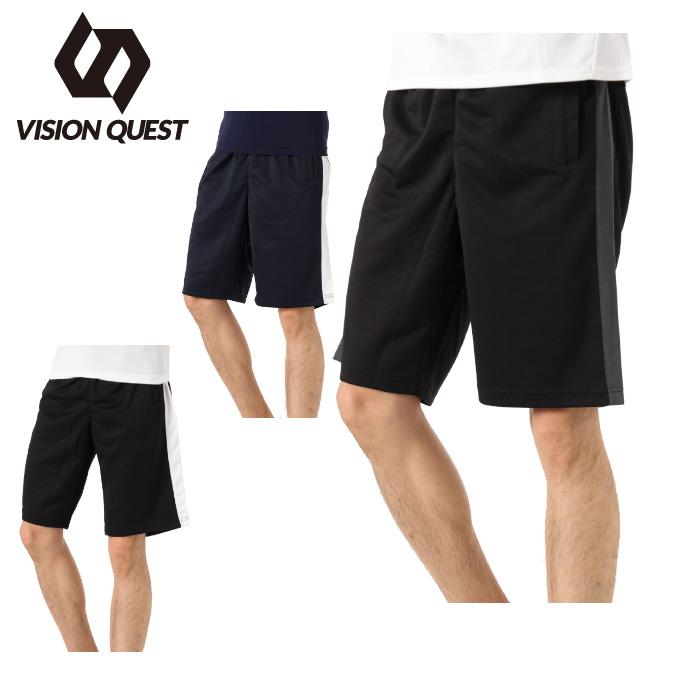 購入後レビュー記入でクーポンプレゼント中 ハーフパンツ メンズ ジャージショーツ VISION QUEST VQ441301I02 ビジョンクエスト 人気の製品 売店