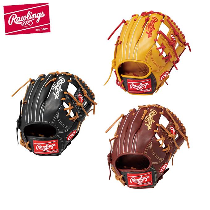 ローリングス Rawlings 野球 一般軟式グラブ 内野手用 メンズ レディース 軟式 HYPER TECH COLORS ハイパーテック カラーズ GR9HTCK41