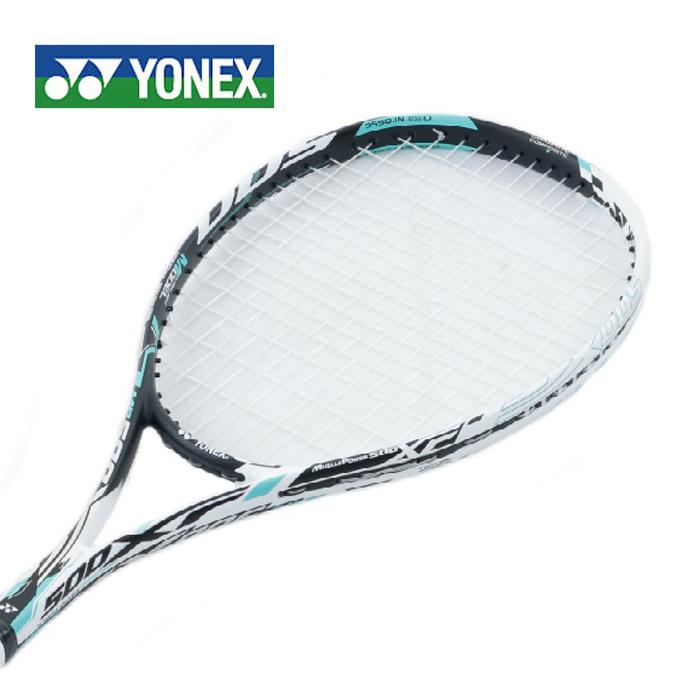 ヨネックス ソフトテニスラケット オールラウンド 張り上げ済み メンズ レディース マッスルパワー500XF MUSCLE POWER MP500XFHG 551 YONEX