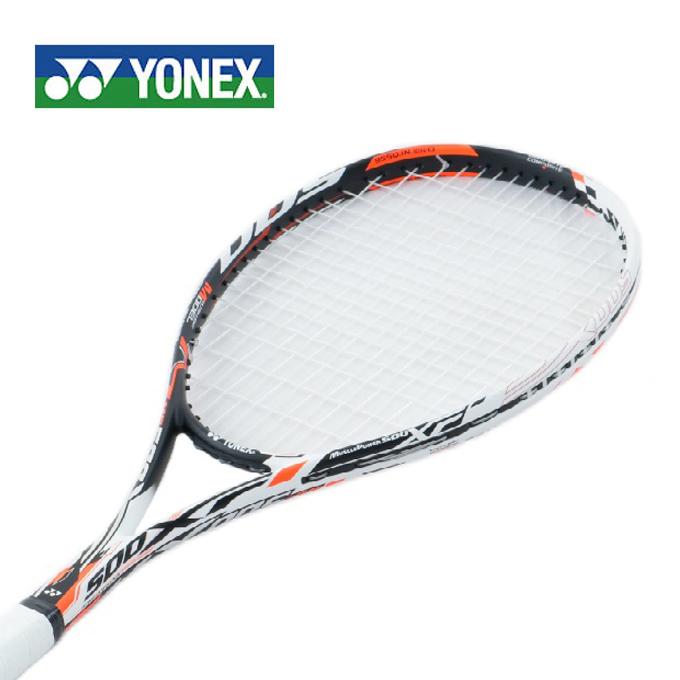 ヨネックス ソフトテニスラケット オールラウンド 張り上げ済み メンズ レディース マッスルパワー500XF MP500XFHG-386 YONEX