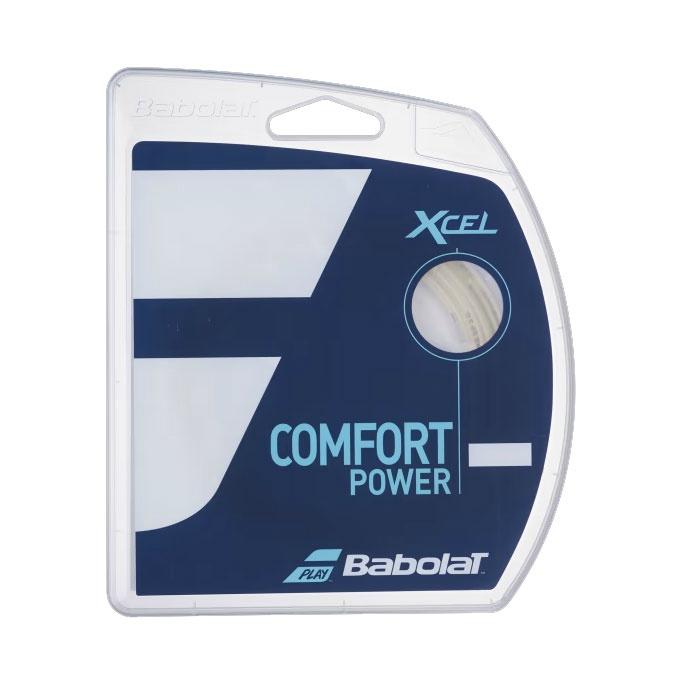 購入後レビュー記入でクーポンプレゼント中 バボラ テニスガット マーケティング 硬式 モデル着用&注目アイテム 単張り エクセル125 XCEL125 Babolat ナイロンマルチフィラメント BA241110-125