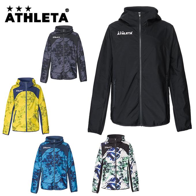 アスレタ ATHLETA サッカーウェア ウインドブレーカージャケット メンズ レディース ストレッチトレーニングJK 04124