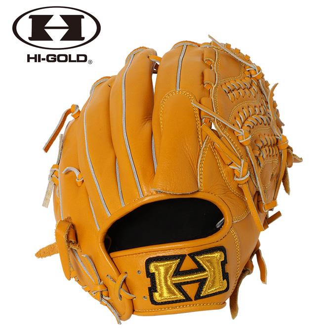 ハイゴールド HI-GOLD 野球 一般軟式グラブ 投手用 メンズ レディース 己極シリーズ OKG-6021