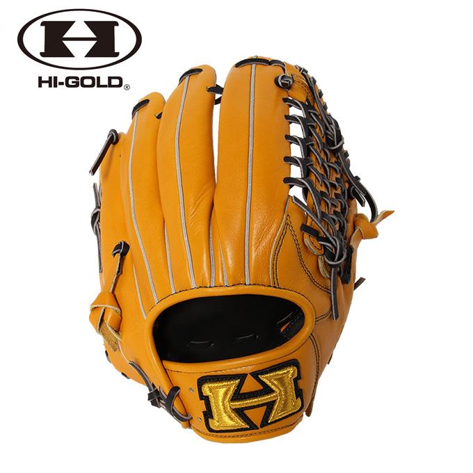 ハイゴールド HI-GOLD 野球 一般軟式グラブ オールラウンド用 メンズ レディース 己極シリーズ 三塁手 オールポジション用 OKG-6025
