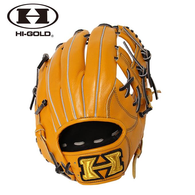 ハイゴールド HI-GOLD 野球 一般軟式グラブ 内野手用 メンズ レディース 己極シリーズ 二塁手 遊撃手用 OKG-6026