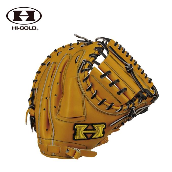 ハイゴールド HI-GOLD 野球 一般軟式グラブ 捕手用 メンズ レディース 己極シリーズ CM OKG-602M