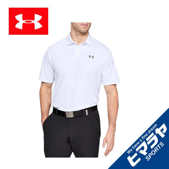 アンダーアーマー ゴルフウェア ポロシャツ 半袖 メンズ UAパフォーマンスポロ MEN 1342080-100 UNDER ARMOUR