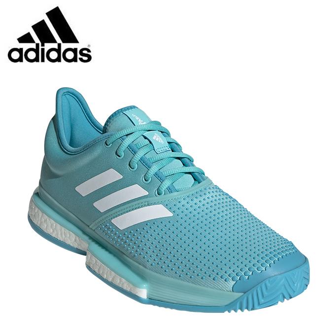 アディダス テニスシューズ オールコート メンズ ソールコートブースト SoleCourt Boost MC CG6339 CDR73 adidas