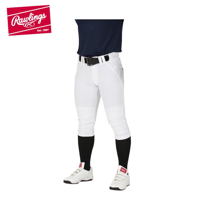 【購入後レビュー記入でクーポンプレゼント中】 ローリングス 野球 練習着 パンツ メンズ 4Dウルトラハイパーストレッチパンツ ショートフィット マーク無し ひざ加工なし APP9S01-NN Rawlings