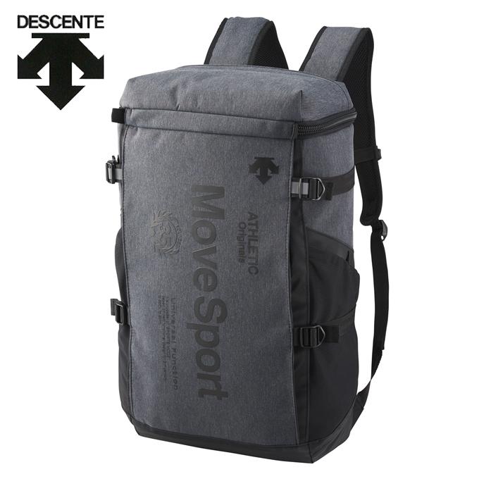 デサント DESCENTE バックパック メンズ レディース スクエアバックパックM 30L DMANJA04-BLKM