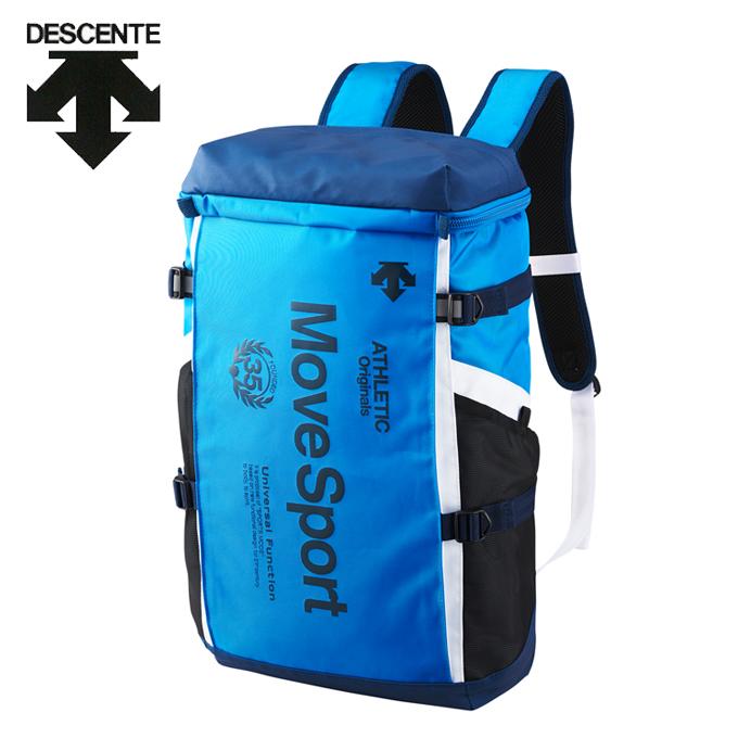 デサント DESCENTE バックパック メンズ レディース スクエアバックパックM 30L DMANJA04-BL