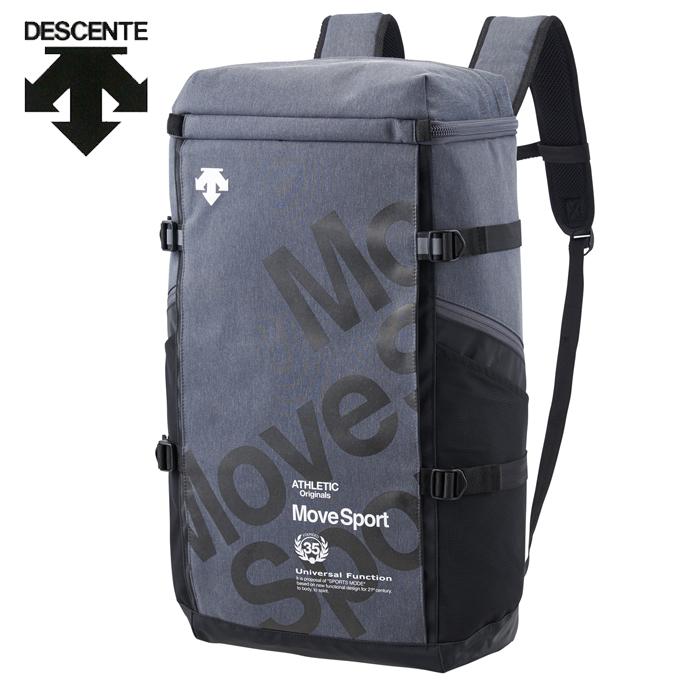 デサント DESCENTE バックパック メンズ レディース スクエアバックパックL 40L DMANJA05-GRYM