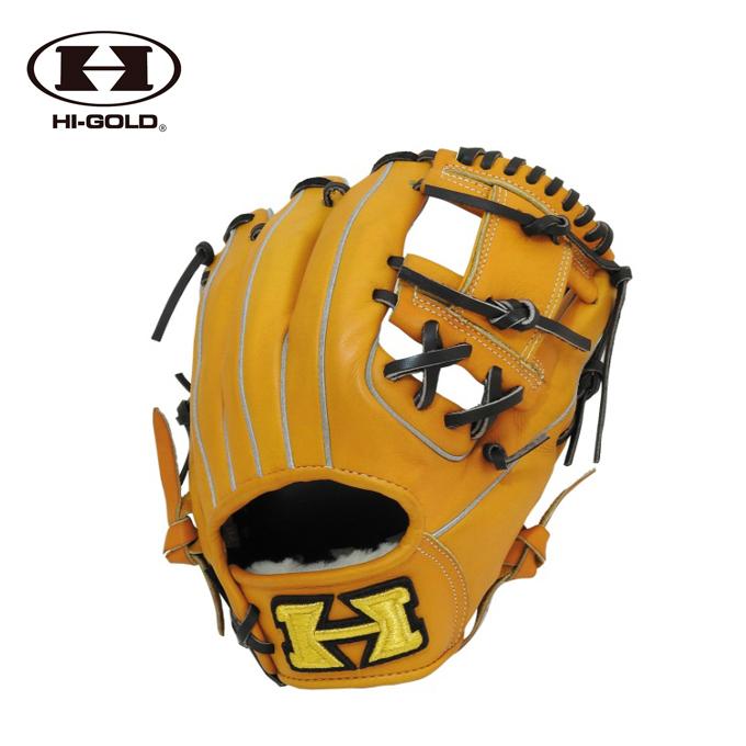 ハイゴールド HI-GOLD 野球 硬式グラブ 内野手用 メンズ レディース 型付け加工済み 硬式グラブ SPKG-F104