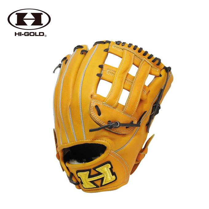 ハイゴールド HI-GOLD 野球 硬式グラブ 外野手用 メンズ レディース 型付け加工済み 硬式グラブ SPKG-F108