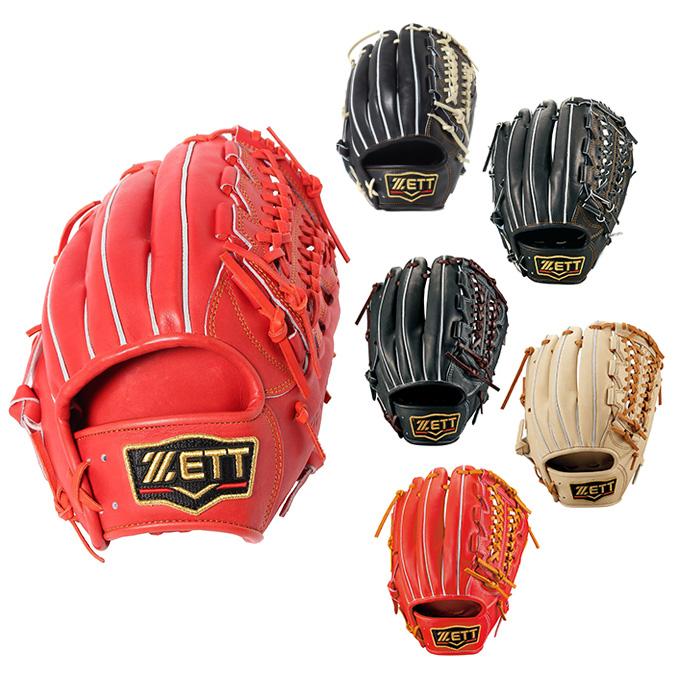 【エントリーで14倍 8/10~8/11まで】 ゼット 野球 硬式グラブ 内野手用 メンズ 三塁手用 プロステイタス BPROG450 ZETT