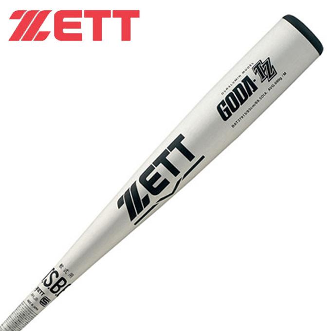 ゼット ZETT 野球 一般軟式バット メンズ 一般 軟式 金属製 バット ゴーダTZ 83cm BAT37913 1300