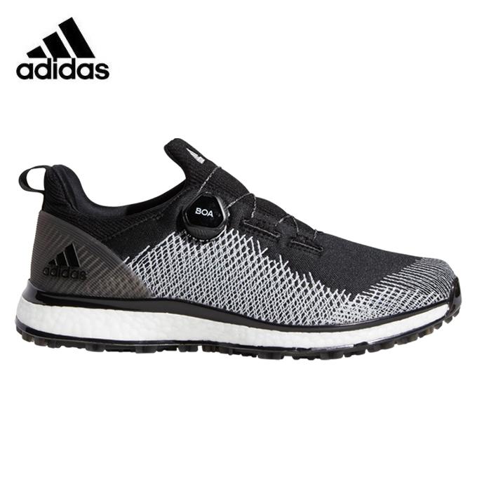 アディダス ゴルフシューズ スパイクレス メンズ フォージファイバーボア BB7920 BTE44 adidas