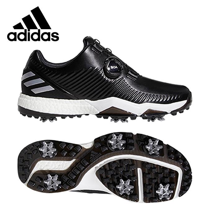 アディダス ゴルフシューズ ソフトスパイク メンズ アディパワーフォージドボア BD7141 BTE46 adidas