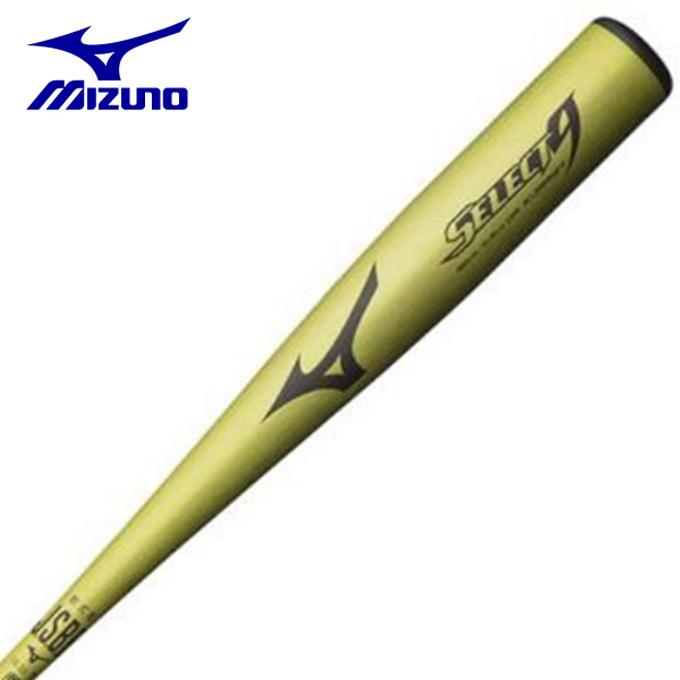 ミズノ 野球 一般軟式バット メンズ レディース 軟式用セレクトナイン 金属製 85cm 平均710g 1CJMR13785 40 MIZUNO