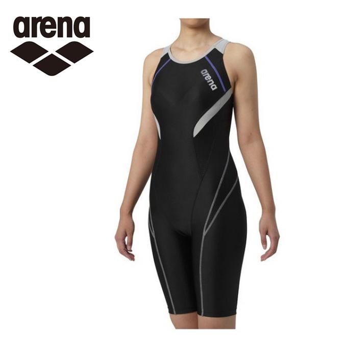 アリーナ arena フィットネス水着 オールインワン レディース サークルバックスパッツ ひっかけフィットパッド 着やストラップ LAR-9200W