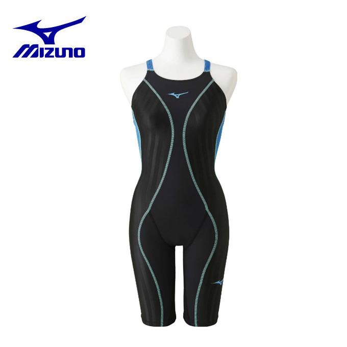【エントリーで5倍 8/10~8/11まで】 ミズノ FINA承認 競泳水着 レディース FX・SONIC+ ハーフスーツ N2MG923091 MIZUNO