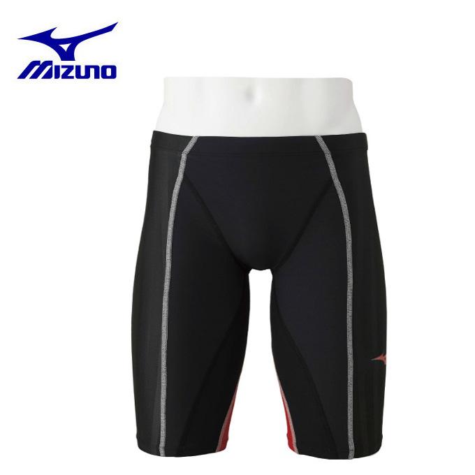 ミズノ FINA承認 競泳水着 ジュニア B/FX・SONIC+ ハーフスパッツ N2MB943096 MIZUNO