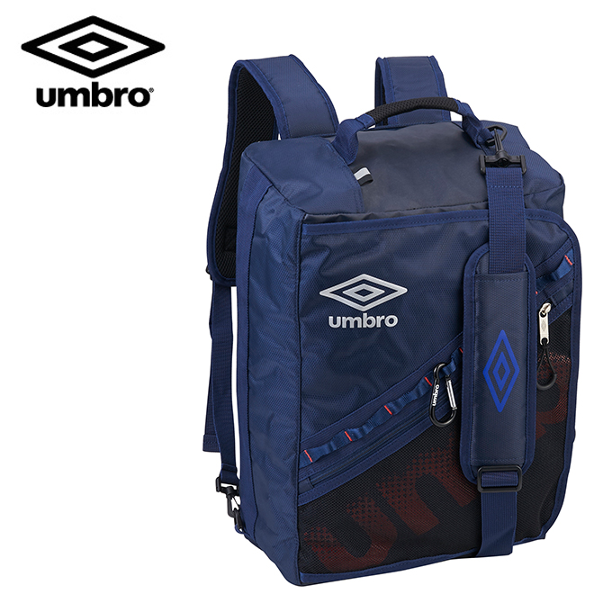 アンブロ UMBRO バックパック メンズ レディース 3WAYバックパック 34L UUANJA12-NVRD