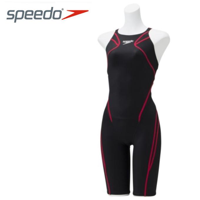 スピード speedo FINA承認 競泳水着 ハーフスパッツ レディース Atlas アトラス ニースキン レーシング オールインワン SCW11906F-KR
