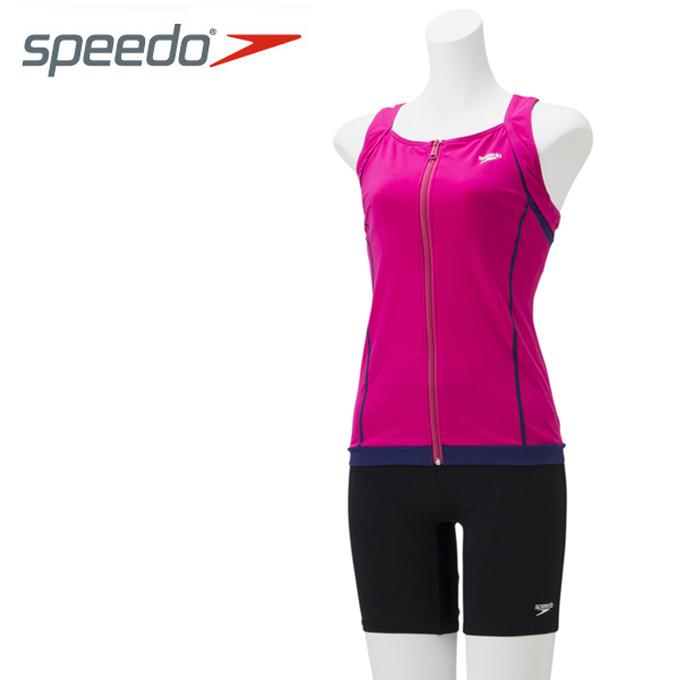 スピード speedo フィットネス水着 セパレート レディース Aqua Gym アクアジム セパレーツ SD58Z19-PI