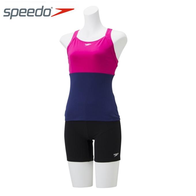 スピード speedo フィットネス水着 セパレート レディース Aqua Gym アクアジム セパレーツ SD58S19-PI