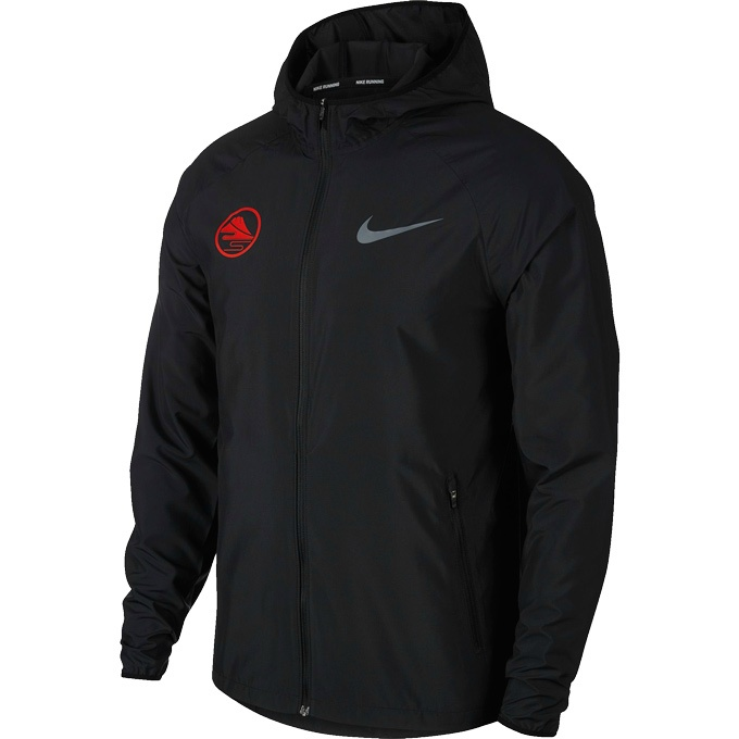 ナイキ ウインドブレーカー ジャケット メンズ フーデッド ランニングジャケット エッセンシャル BV0249-010 NIKE