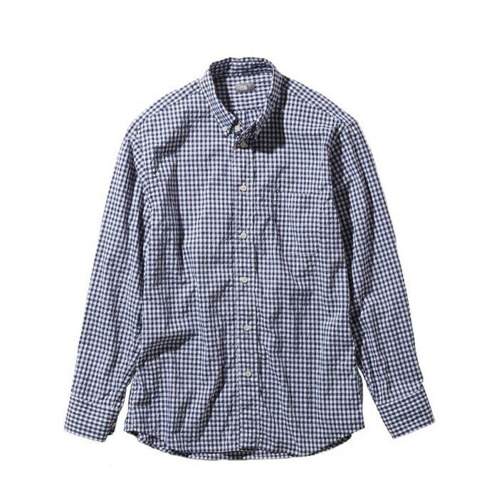 ノースフェイス 長袖シャツ メンズ ロングスリーブヒデンバリーシャツ L/S Hidden Valley Shirt NR11966 NG THE NORTH FACE