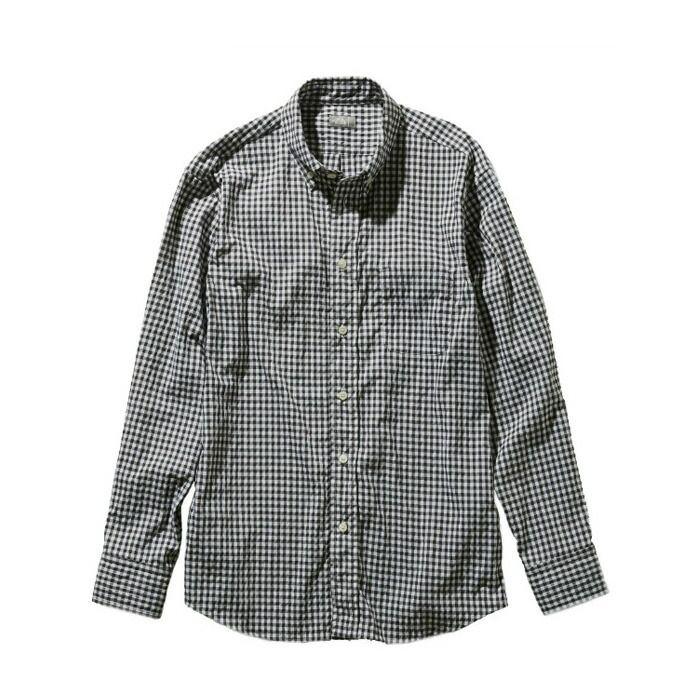 ノースフェイス 長袖シャツ メンズ ロングスリーブヒデンバリーシャツ L/S Hidden Valley Shirt NR11966 BG THE NORTH FACE