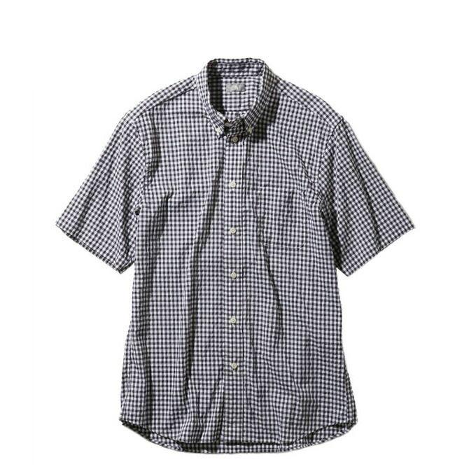 【5/5はクーポンで1000円引&エントリーかつカード利用で5倍】 ノースフェイス 半袖シャツ メンズ S/S Hidden Valley Shirt ヒデン バリー シャツ NR21967 BG THE NORTH FACE アウトドアシャツ