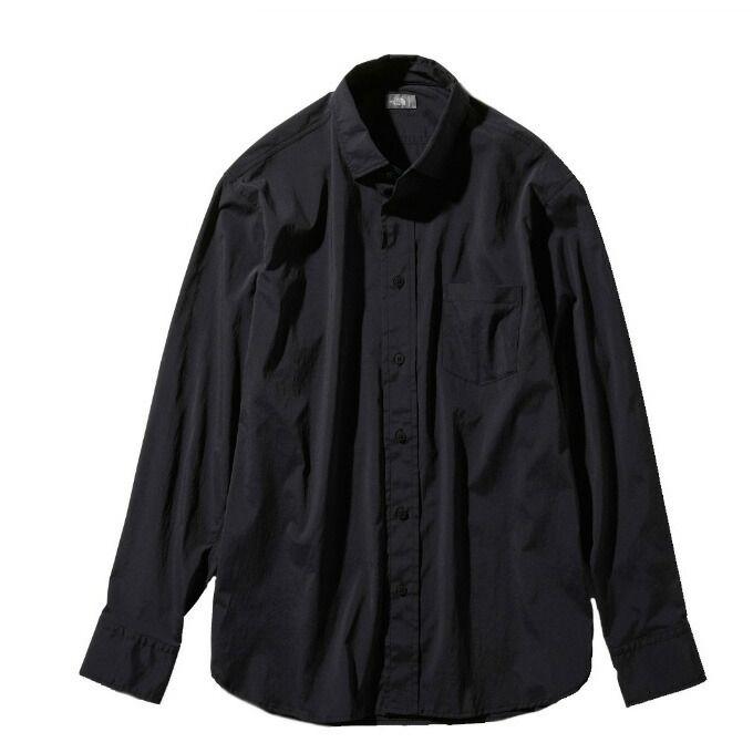 ノースフェイス 長袖シャツ メンズ L/S Vernal Shirt ロングスリーブバーナルシャツ NR11958 K THE NORTH FACE