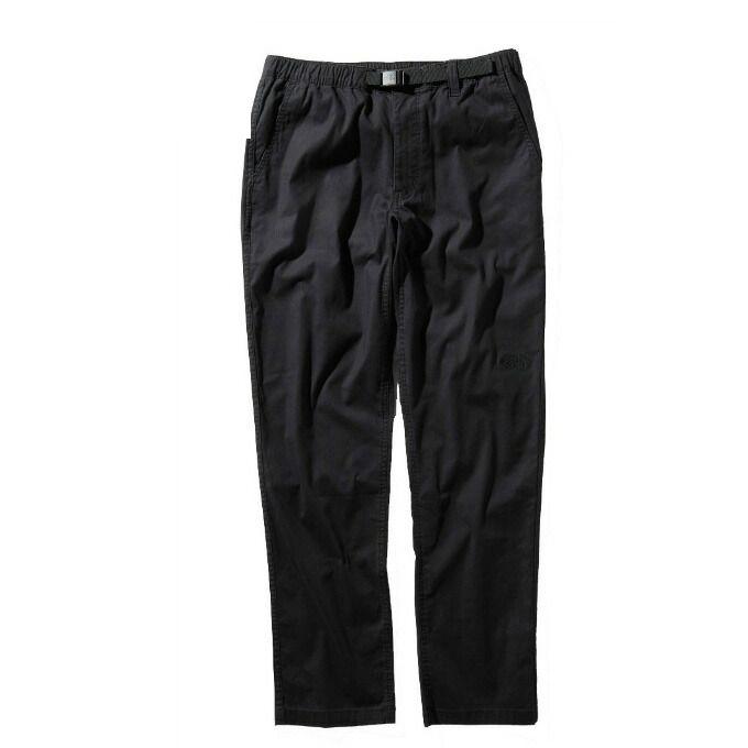 【エントリーで9倍 8/10~8/11まで】 ノースフェイス ロングパンツ メンズ Cotton OX Light Pant コットン ライト パンツ NB31940 K THE NORTH FACE