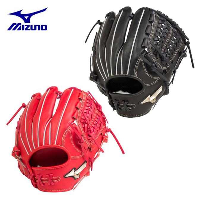 ミズノ MIZUNO 野球 硬式グラブ 内野手用 グローバルエリート Hselection00 1AJGH20503 逆巻き