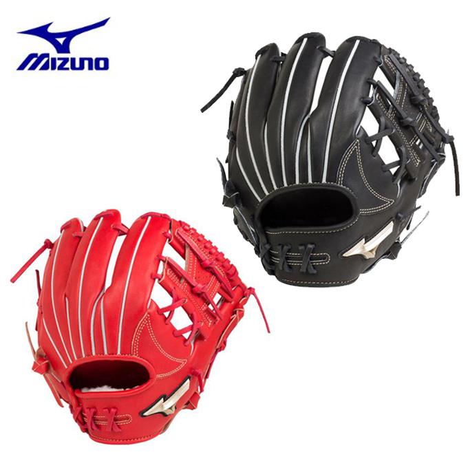 ミズノ 野球 硬式グラブ 内野手用 メンズ レディース グローバルエリート Hselection00 サイズ9 1AJGH20513 MIZUNO