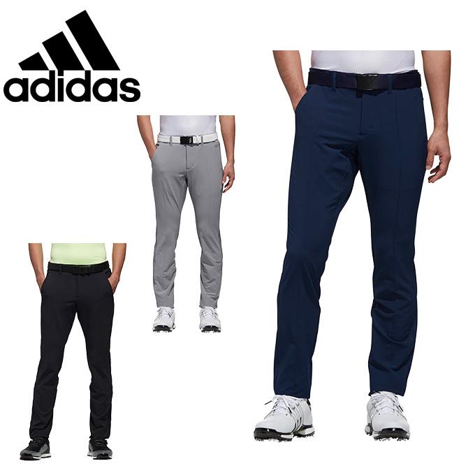 アディダス ゴルフウェア ロングパンツ メンズ EX STRETCH ACTIVE スリーストライプス テーパードパンツ FVE39 adidas