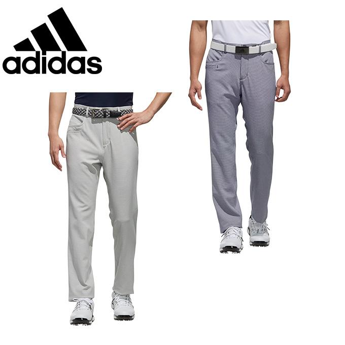 アディダス ゴルフウェア ロングパンツ メンズ ADICROSS アディクロス EX STRETCH ストレッチ チェックパンツ FYG40 adidas