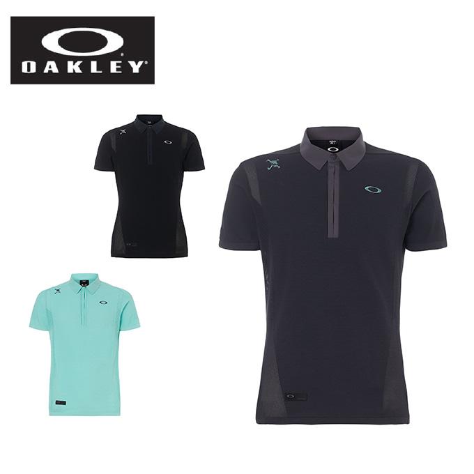オークリー ゴルフウェア 半袖シャツ メンズ SKULL SYNCHRONISM SWEATER SHIRTS 2.0 スカル シンクロニズム セーター シャツ 434388JP OAKLEY