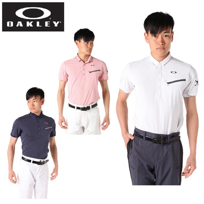 オークリー ゴルフウェア ポロシャツ 半袖 メンズ デルタドット半袖シャツ 434394JP OAKLEY