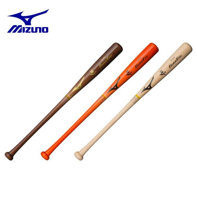 ミズノ 野球 硬式バット メンズ レディース 硬式用 グローバルエリート メイプル 木製 84cm 平均880g 1CJWH15184 MIZUNO